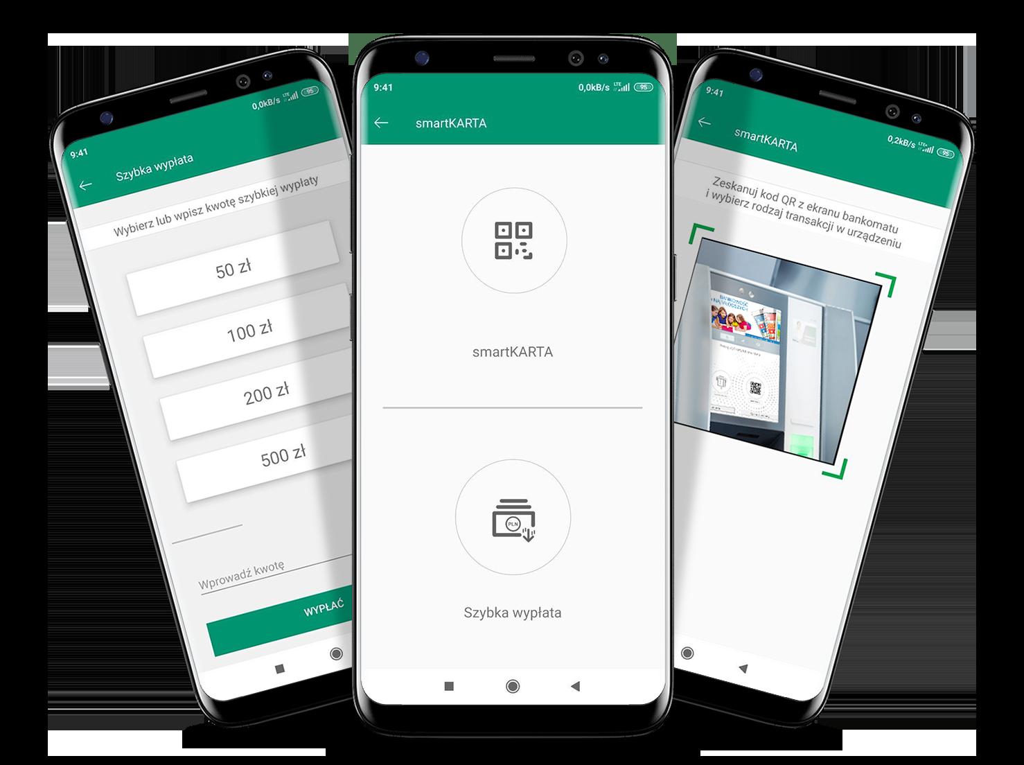 6 wizualizacja Ekrany z App Nasz Bank