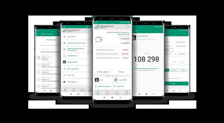 wizualizacja Ekrany z App Nasz Bank 726x400